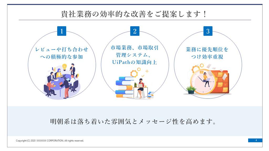 プレゼン資料ブラッシュアップ03 フォント 游明朝